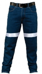 Ritemate RM106DJR  Denim jeans with 3M 8910 reflective tape