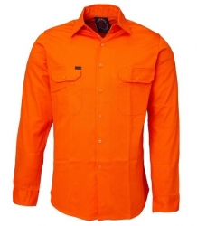 RM108V3 Vented Open Front L/S Shirt
