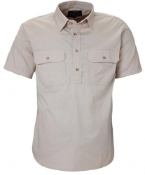 Ritemate RM200CFS Pilbara Mens Closed Front Short Sleeve Shirt
