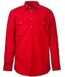 RITEMATE RM300CF - Long Sleeve Standard Weight C/F Pilbara Shirt