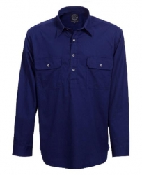 RITEMATE RM400CF - Long Sleeve Standard Weight C/F Pilbara Shirt