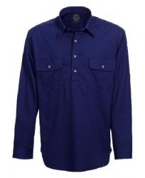 Ritemate RM400CF Childrens Pilbara Closed Front Long Sleeve Shirt