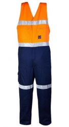 RITEMATE RM909AR - Cotton Drill Action Back Overalls
