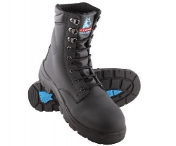 High Leg Lace Up Safety Boot