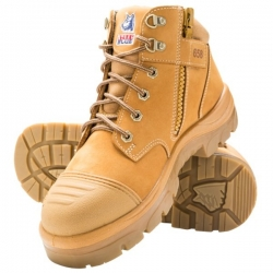 STEEL BLUE 312658 - Zip Sided Safety Boot with Scuff Cap