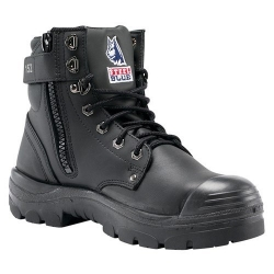 STEEL BLUE 332152 - Zip sided safety boot with bump cap