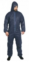 Combat Disposable Polypropylene Coverall Navy