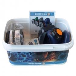 Sundstrom Half Mask Asbestos Respirator Kit M-L (SUN171-05481 - S-M)