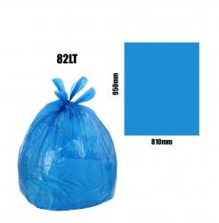 Blue 82lt Bin Liners 500pk