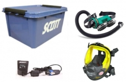 Scott Proflow Kit with Vision Mask