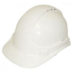 Unilite Safety Helmet  Vented White