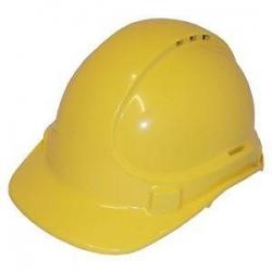 Unilite Safety Helmet  Vented Yellow