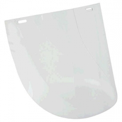 Clear Polycarbonate Visor 200 x 300mm