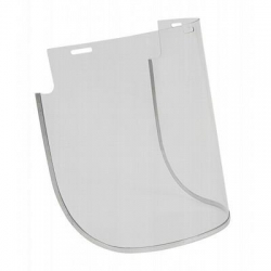 Unisafe Flared Clear Polycarbonate Visor 200 x 400mm