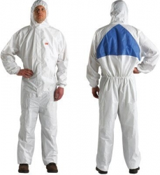 3M 4540+ Coverall Type5/6 White/Blue