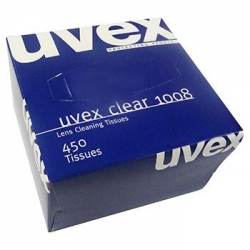 Uvex Replacement Lens Cleaning Tissues Box of 450