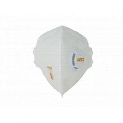 Uvex Disposable P2 Folding Respirator With Valve