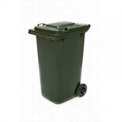 240LT Wheelie Bin Dark Green