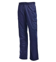 L/WCargo Trouser Drill  Navy