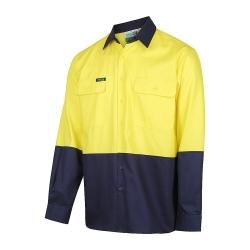 WORKIT 2003 - Long Sleeve Standard Weight Drill Shirt