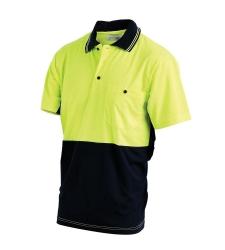 Short Sleeve Hi Vis Polo Shirt